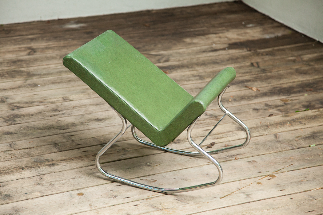 rocker foot stool – SOLD