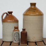 large stoneware bottles – SOLD