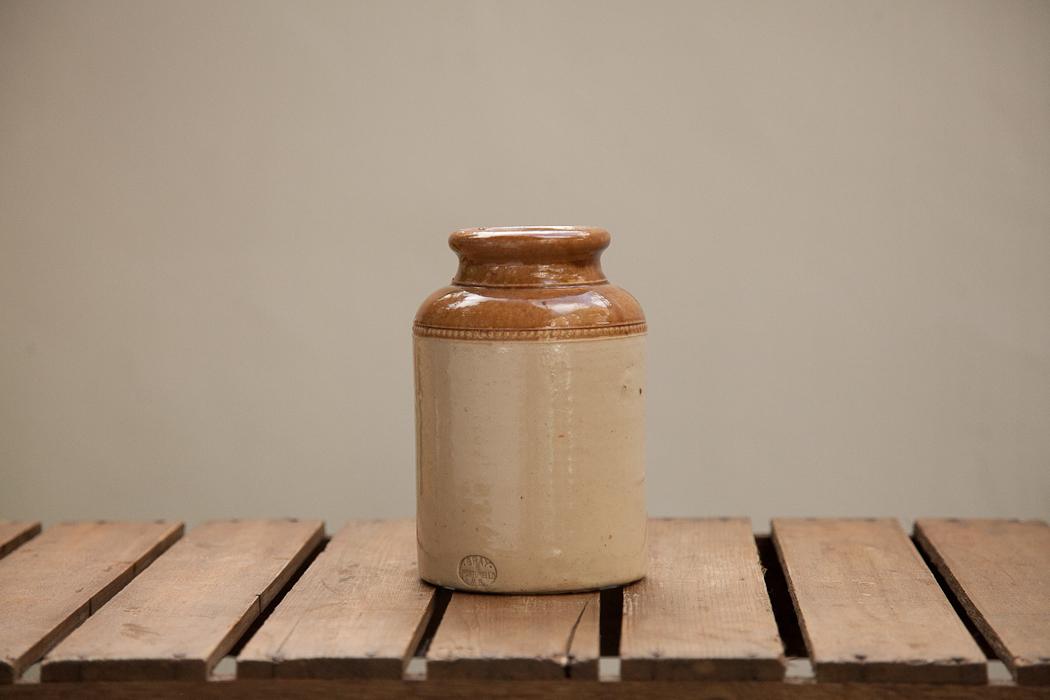 stoneware jar – SOLD