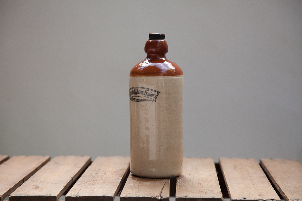 stoneware lemonade bottle – SOLD