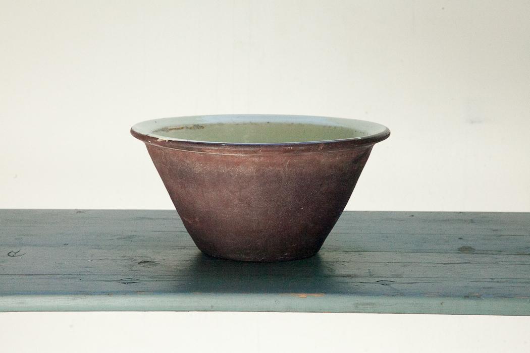 bowl – brown and cream glaze