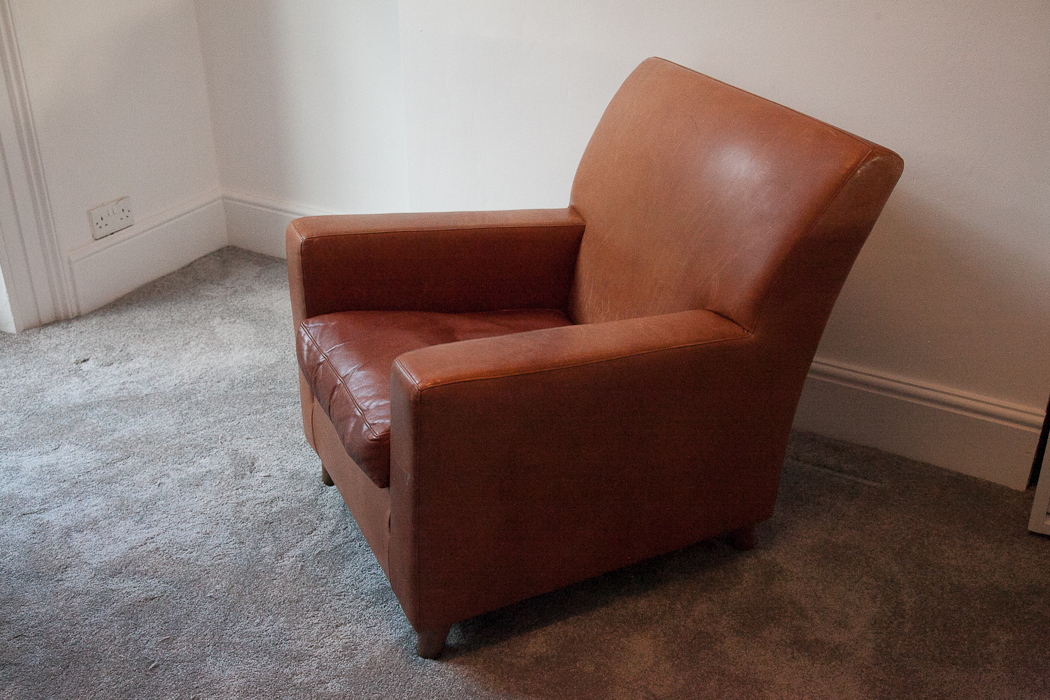 terence conran tan leather armchair ... & terence conran tan leather armchair u2013 SOLD | poet and green