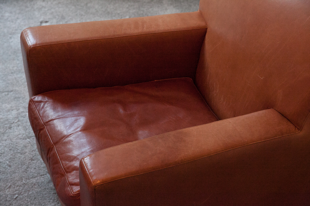 ... Terence Conran Tan Leather Armchair U2013 SOLD
