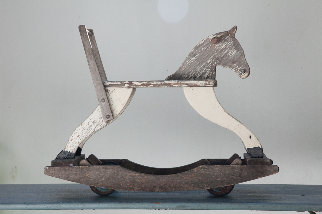 rocking horse wheeled