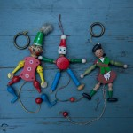pull string puppets – SOLD